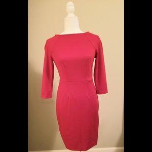 The Limited Modern Boatneck Red Dress